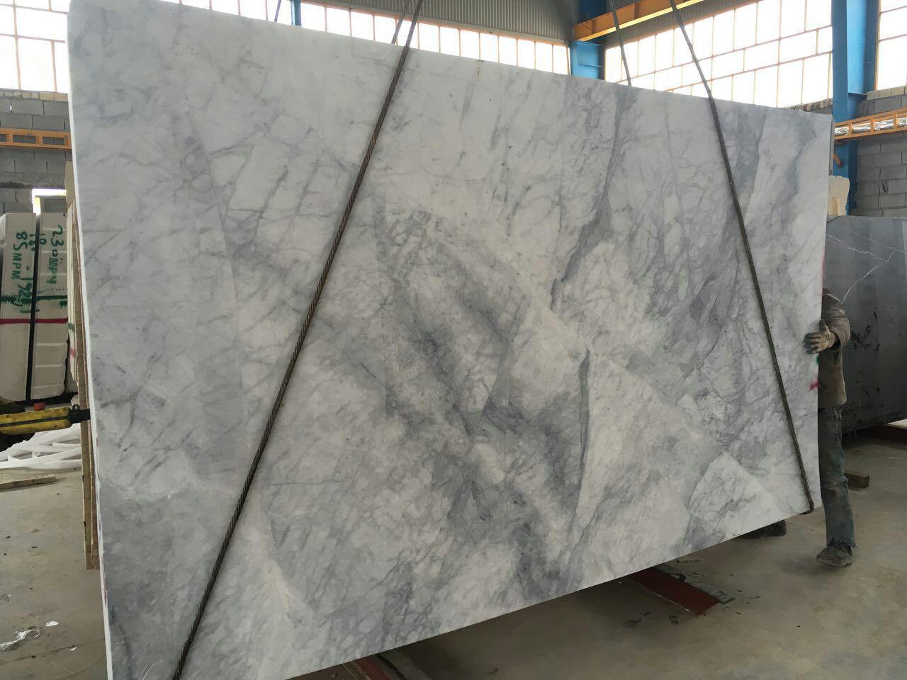 Roman White Marble slab