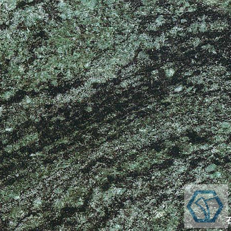 Rainbow green granite