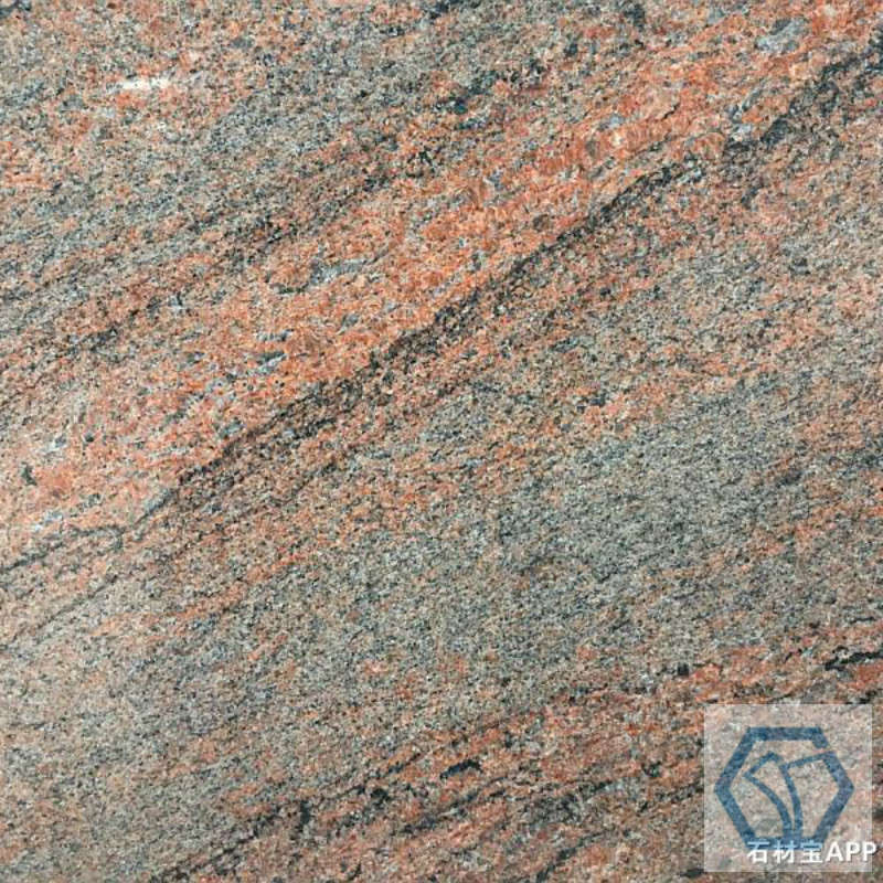 Rainbow red granite