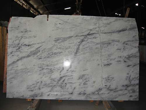 White Marble Crystaline Slabs Bali White Marble Slabs