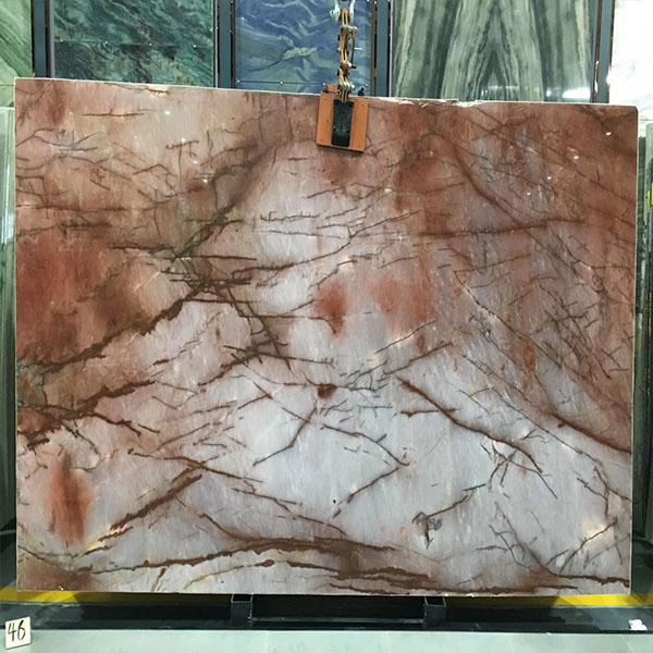 Red semi precious stone