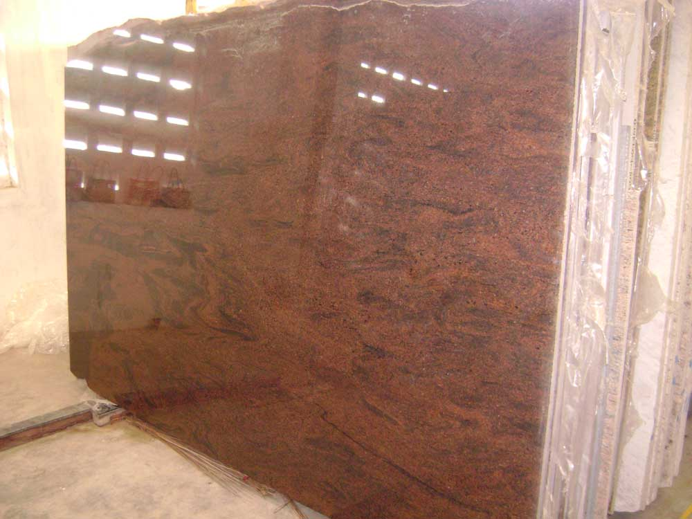 Multi Red Granite Slabs
