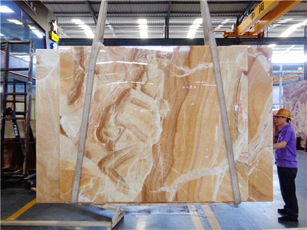 Red Dragon Onyx For Countertop