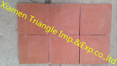 Red Square Antique Handmade Terracotta Floor Tile