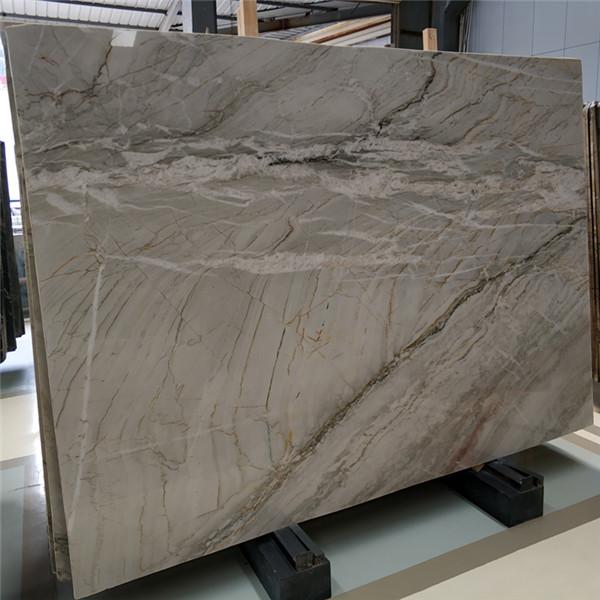 River Valley Grey Marble Slab