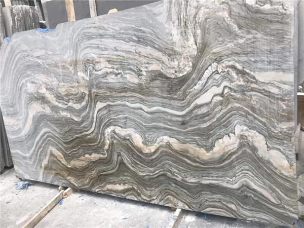 River Green Marble Slab For Wall