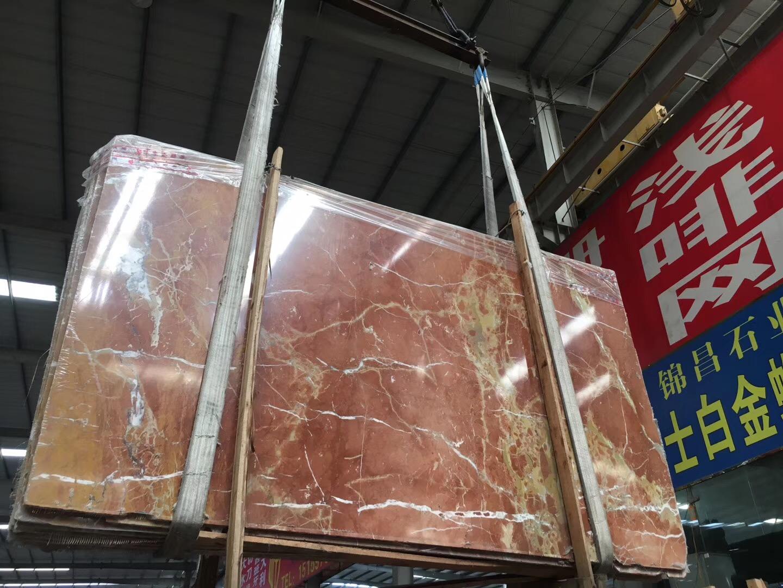 Rojo Alicante Marble Slabs