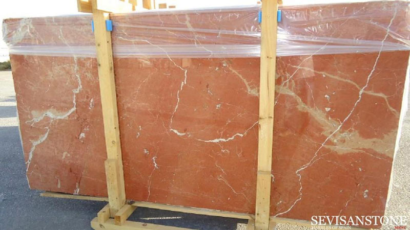 Rojo Alicante red marble