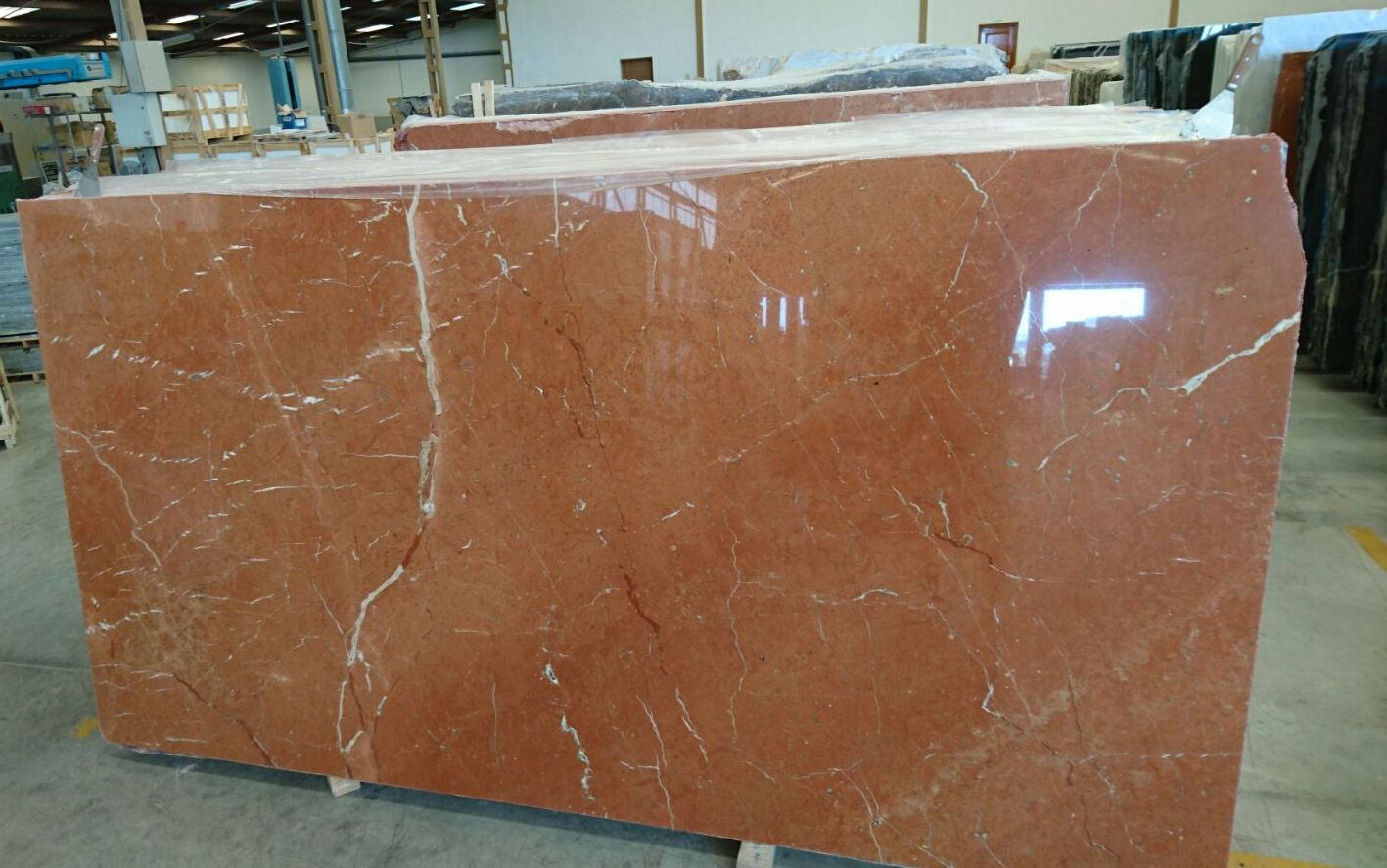 Rojo Alicante marble slabs First