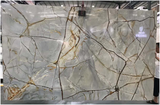 Roma Imperiale Quartzite Slabs for Wall