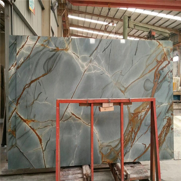 Luxury Roma Impression Blue Quartzite Stone