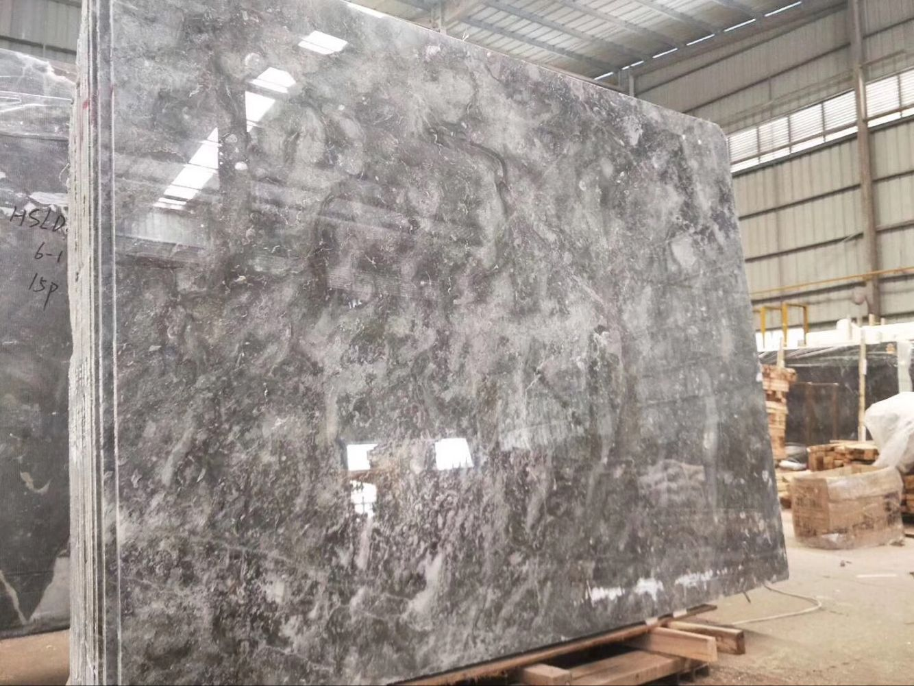 Romantic Grey Marble Tile & Slab  Chinese Grey Marble Hotel Floor Wall Covering Tiles