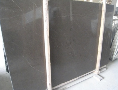 Pure grey marble