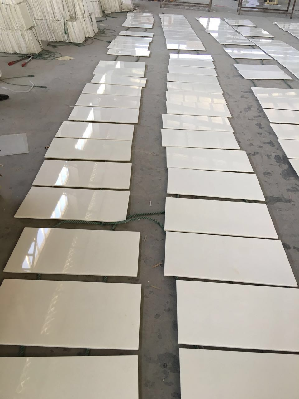 Royal White Paper White Marble Tiles
