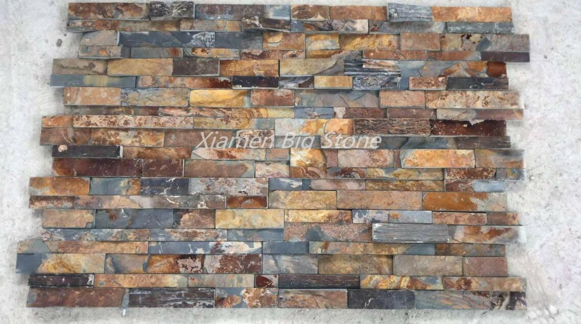 Rusty Slate Culture Stone Wall Cladding