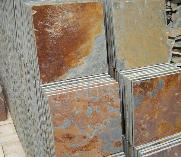 Rusty Slate Tiles