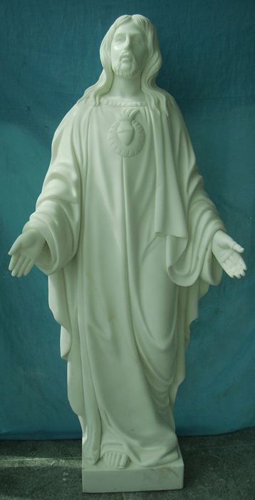 Hand Carved Marble Stone Church Religious Statue