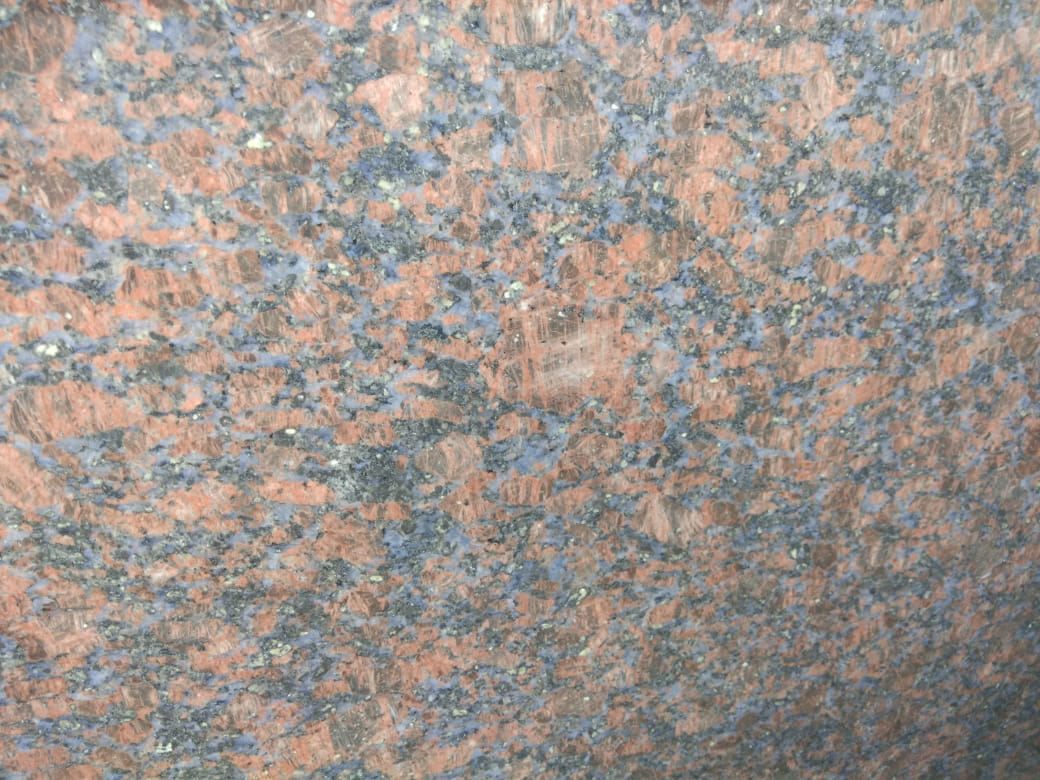 Safari Blue Granite Slabs