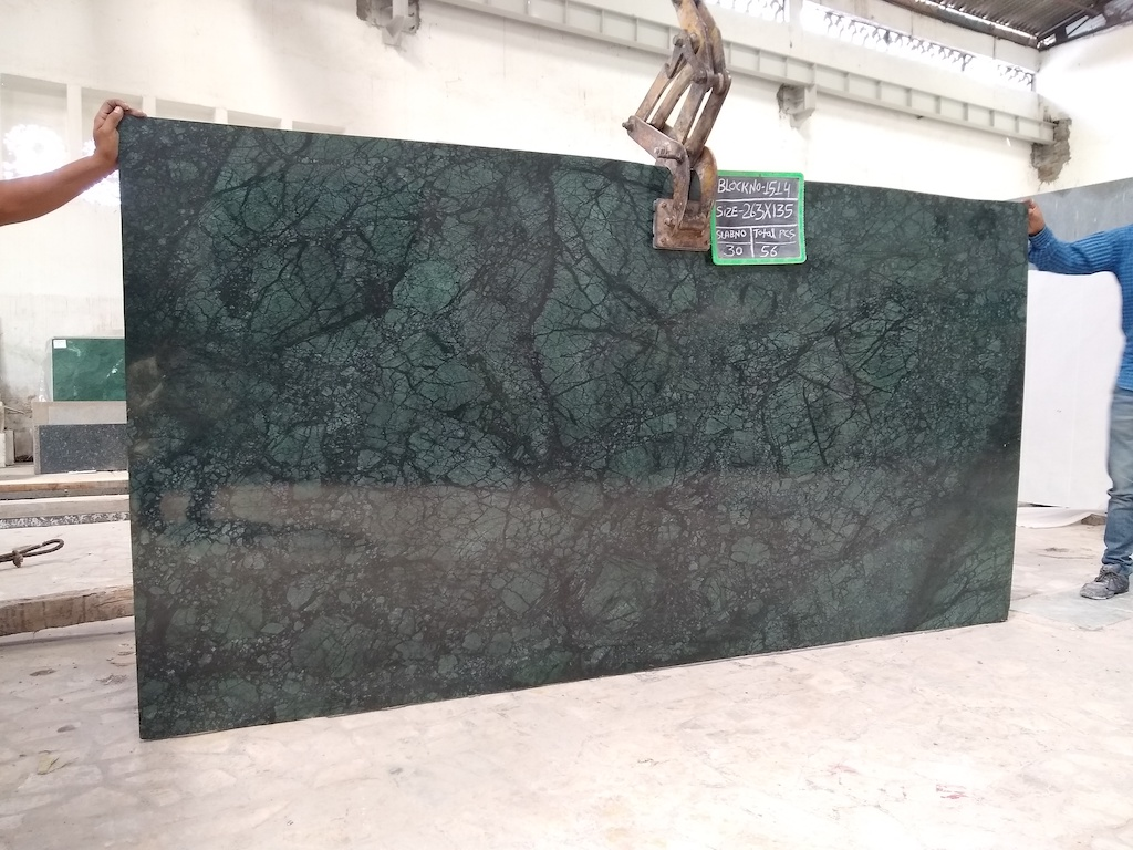 Verde Gautemala Green Marble Slabs