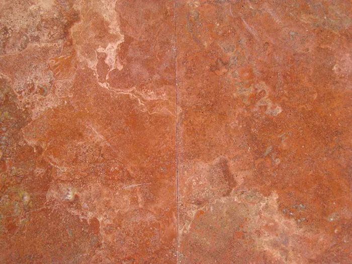 Persian Red Travertine Floor Tiles Red Polished T