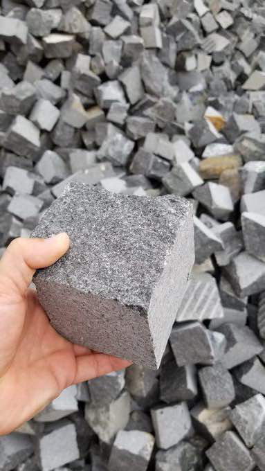 Black Cubic Stone