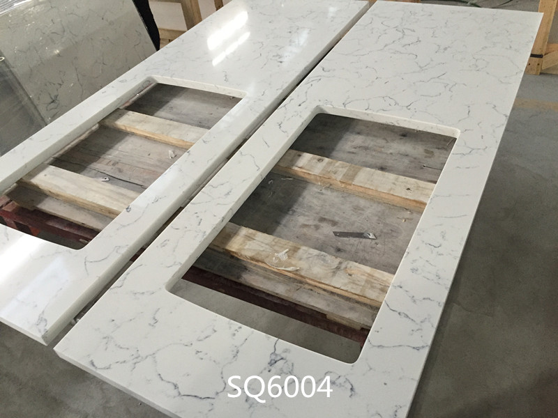 Carrara White marble quartz