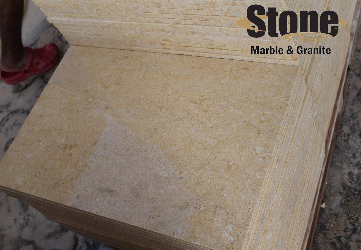 Samaha Marble Honed Beige Marble Tiles
