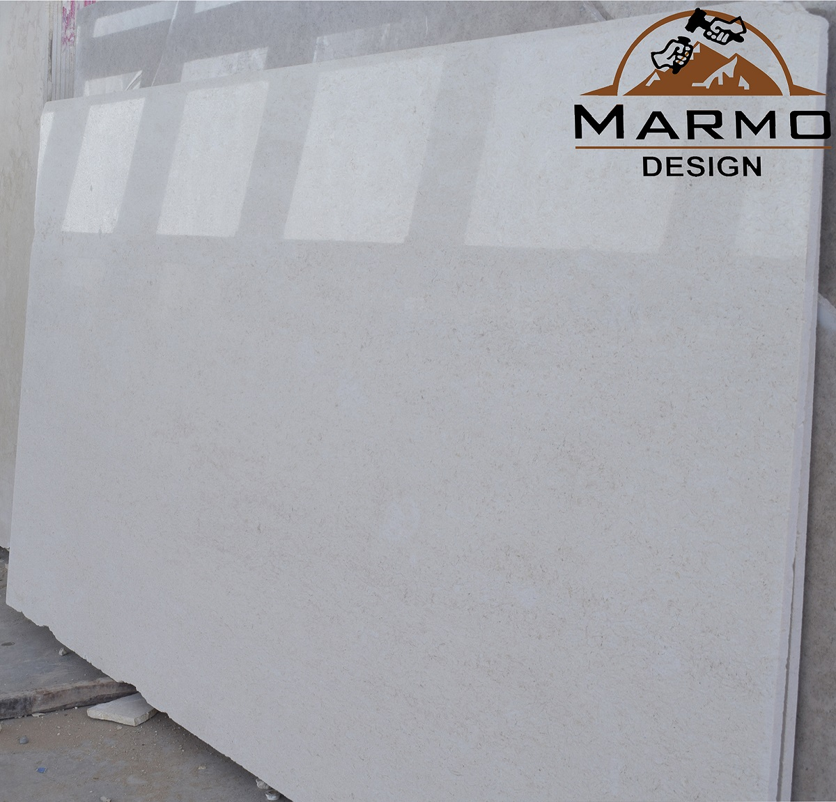 Egyptian Samaha Light Polished Marble Slabs