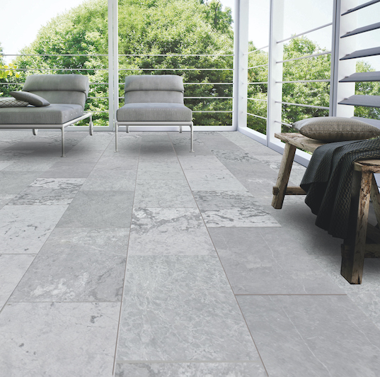 Neruda Black  Grey Marble
