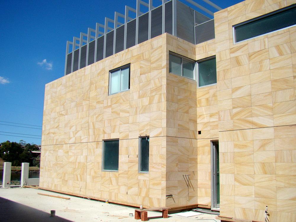 Sandstone Facade