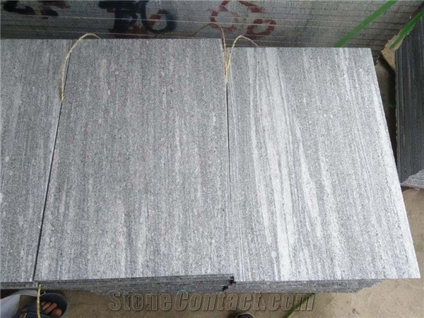 Nero Santiago Granite Tiles Grey Santiago Tiles