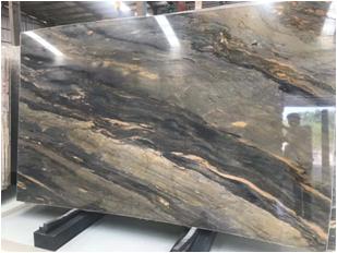 Santorini Quartzite Slabs for Interior Design