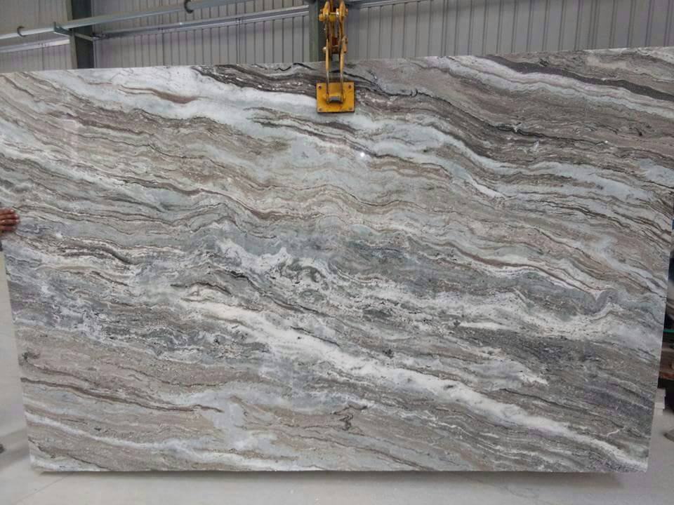 Savar White Granite Stone Slabs