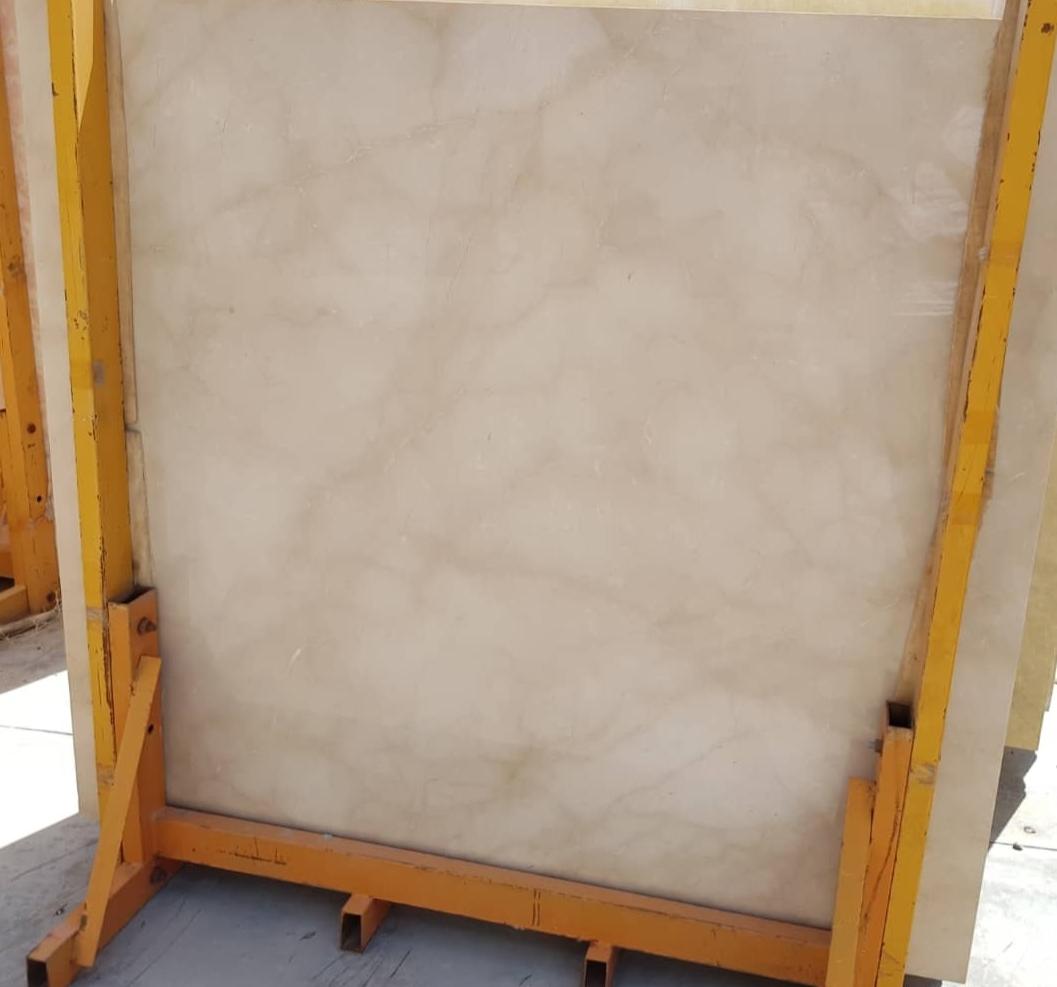 Royal Cream Polished Beige Marble Slabs