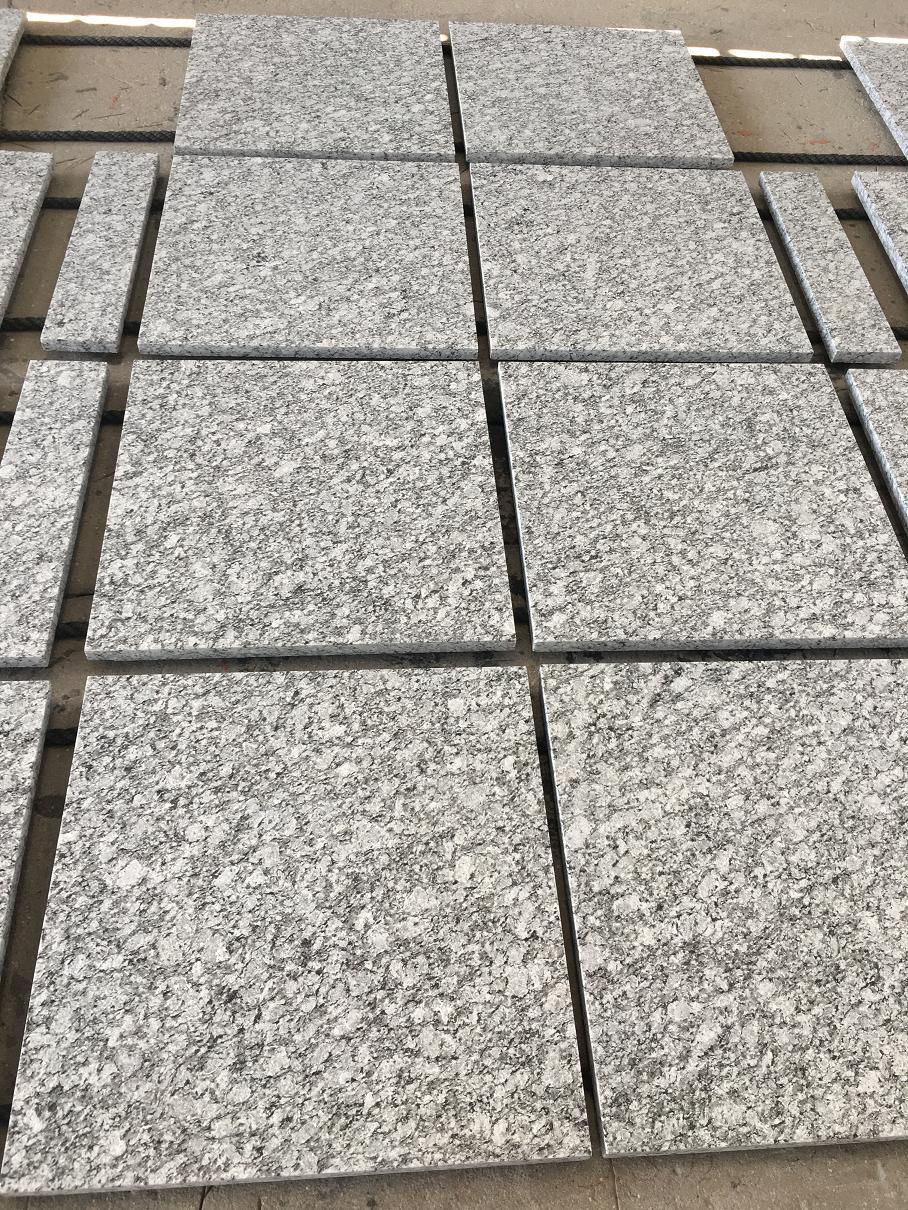 Sea flower whtie granite tiles