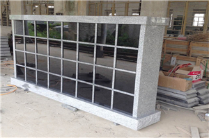 24 Niches Granite Cemetery Cloumbarium  Stone Columbaria