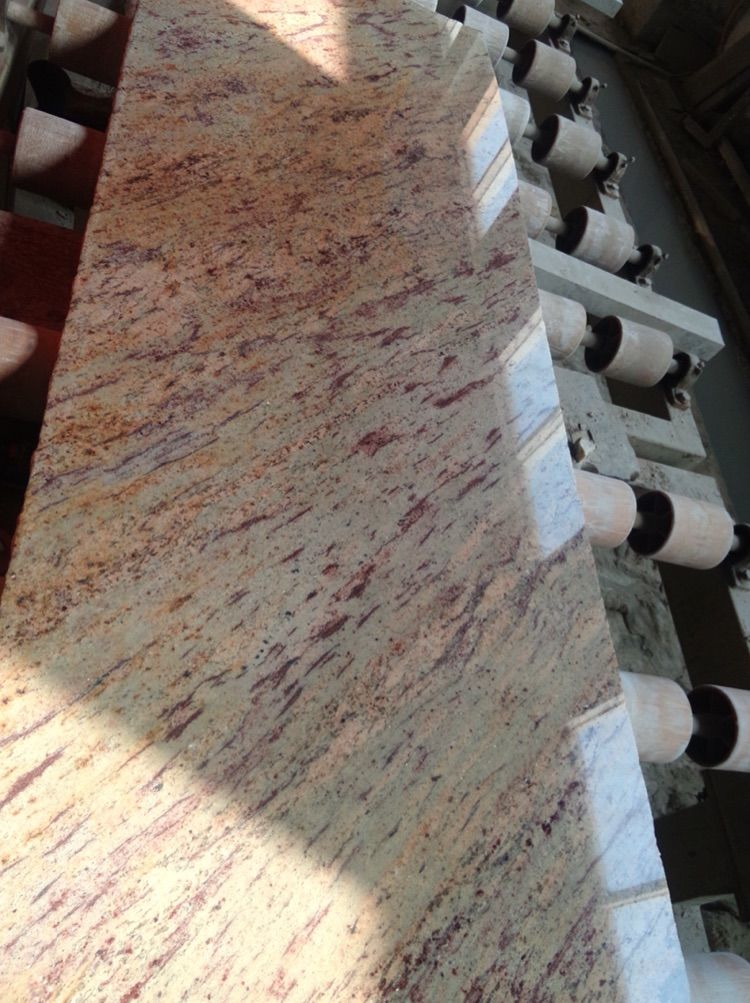 Shiva Gold Granite Tile & Slab India Granite Yellow Polished Granite Flooring Tiles  Walling Tiles