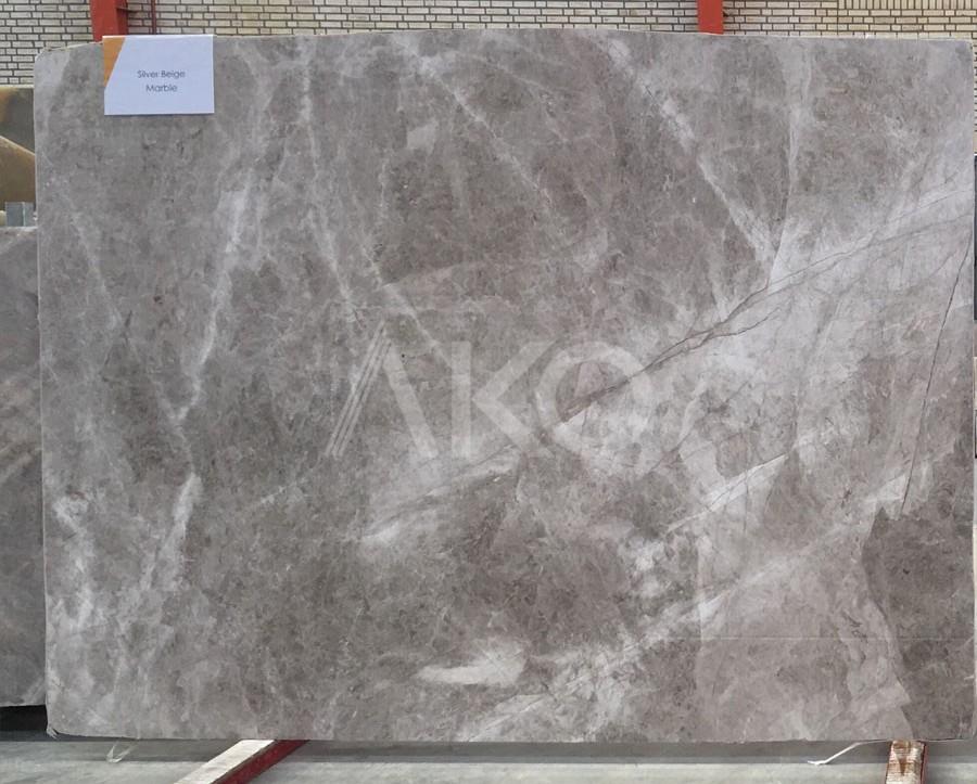 Silver Beige Marble