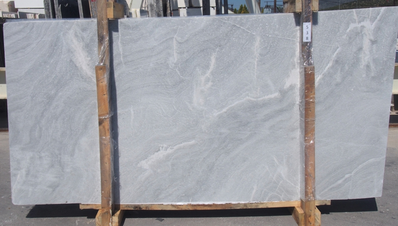 SILVER CLOUD CROSS CUT Marble Slab