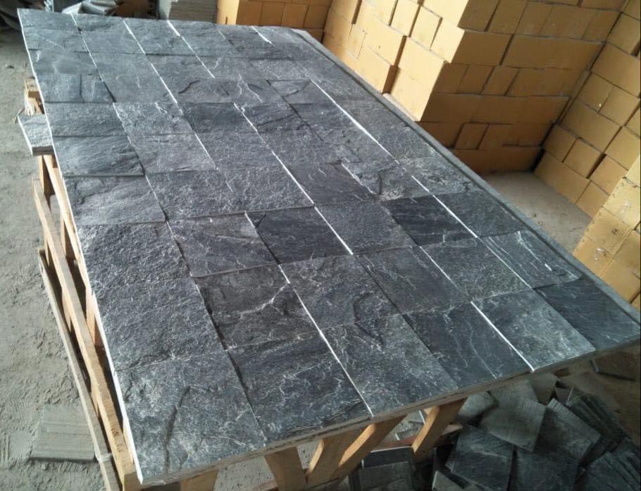 Silver Grey - Natural - 100x100 mm Tiles