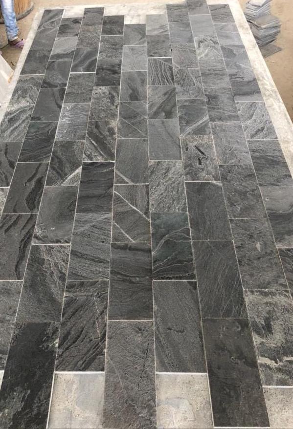 Silver Grey - Polished  Quartz Tiles
