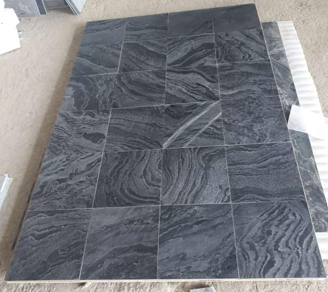 Silver Grey Polished Quartzite Tiles