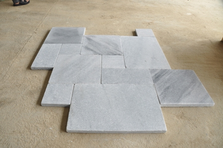 Silver Grey French Pattern Paving Stone