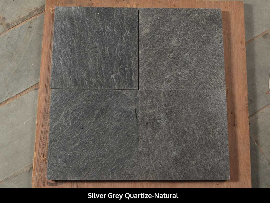 Silver Grey Quartize