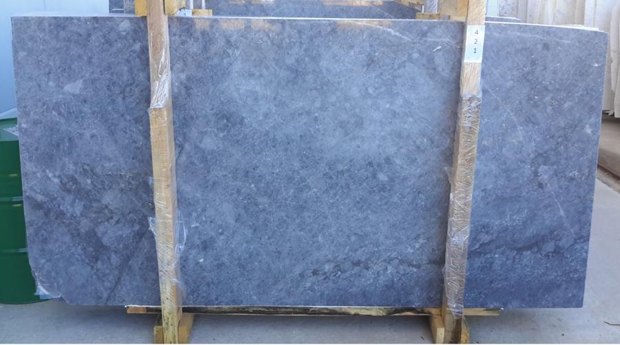 Silver Grey Marble Slab