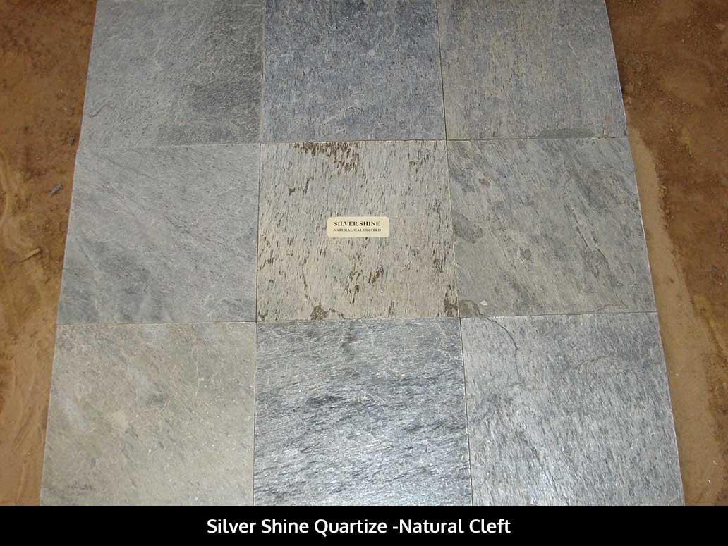 Silver Shine Quartize