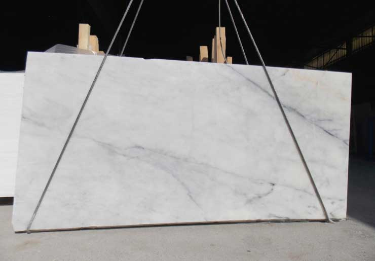 Silver White Marble Slab
