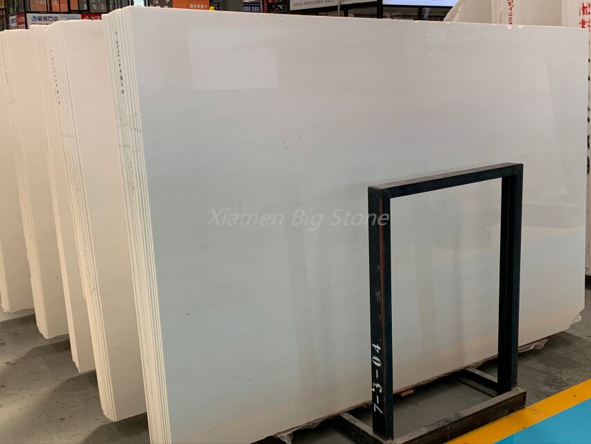 Greece Sivec White Marble Slab