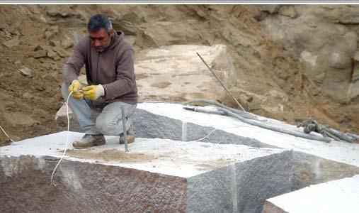 granite diabase block