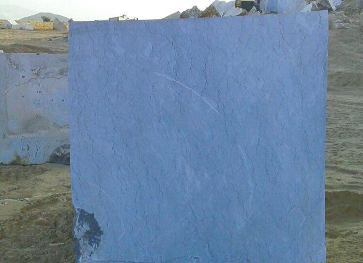 Sky Blue Marble Block